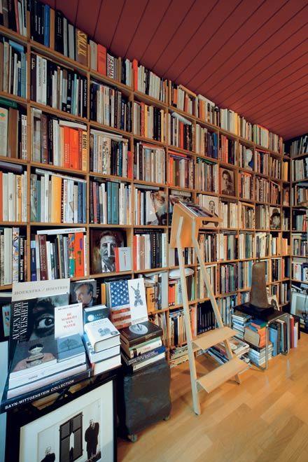Konstantin Grcic's Library