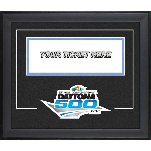 """Fanatics Authentic Daytona 500 Ticket Pop-In 11"""" x 13"""" Frame with Logo - $39.99"""
