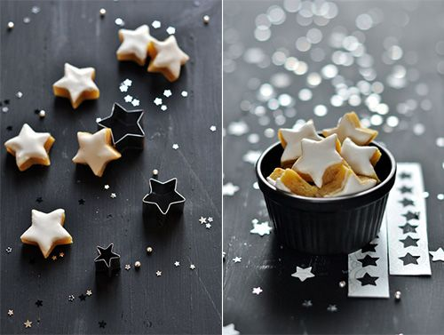 Hand Made Charlotte's constellation cookies also festive for the holidays