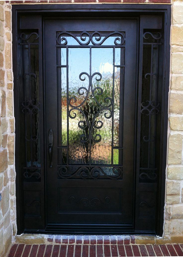 46 best Elegant Iron Doors images on Pinterest  Iron