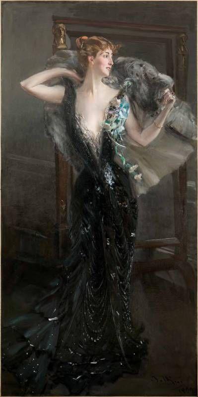 La contessa Speranza, 1899, olio su tela                                                                                                                                                                                 More