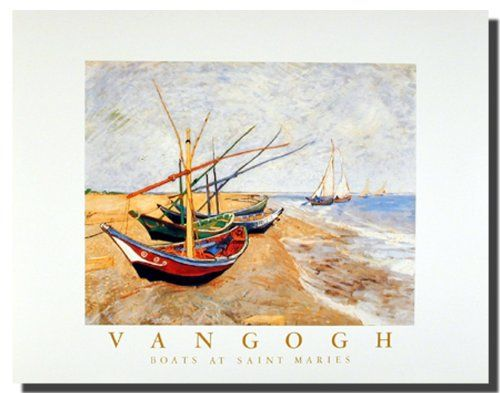 Jazz up your living space with this amazing Vincent Van Gogh art print poster. This beautiful masterpiece would become the focal point of your home. You'll definitely enjoy viewing this poster into your wall. This wall poster is uniquely created with technique that ensures the better quality product with perfect color accuracy which offers long-lasting beauty to your home.