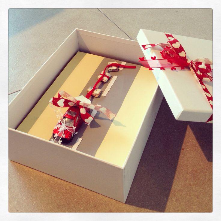 Hochzeitsgeschenk: Geld für Flitterwochen / Money Wedding present