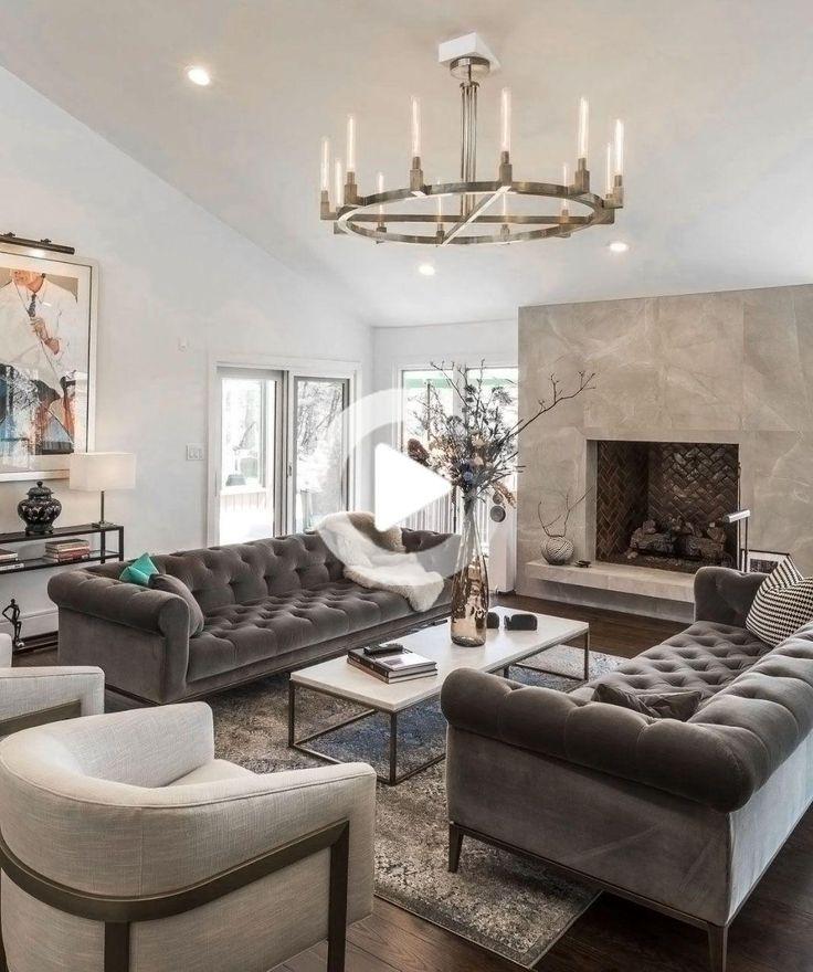 restoration hardware style inspired grey living room decor