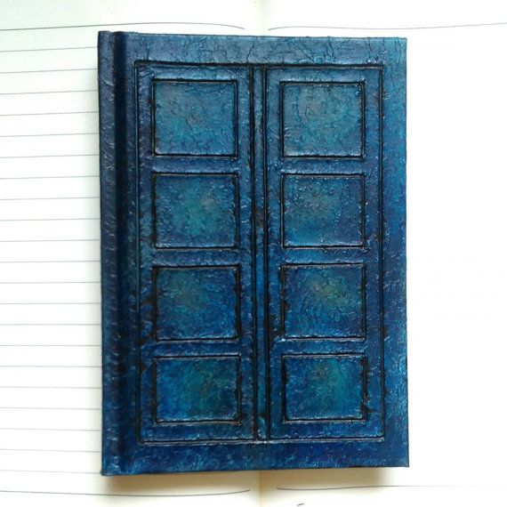 Doctor Who River Song Notebook/ Sketchbook by WhovianCrafts