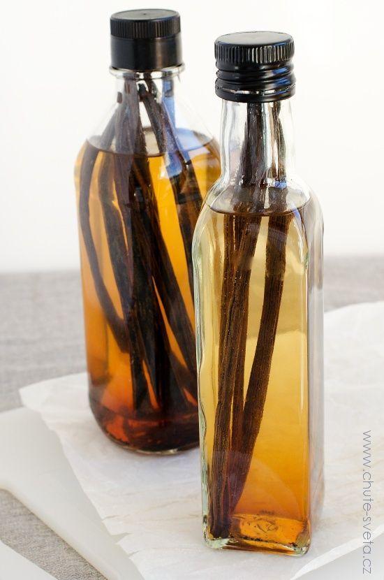 { domácí } vanilkový extrakt | Recipe | Bottle, Food and