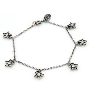 Cath Kidston Clear Crystal Millegrain Star Bracelet: Amazon.co.uk: Jewellery