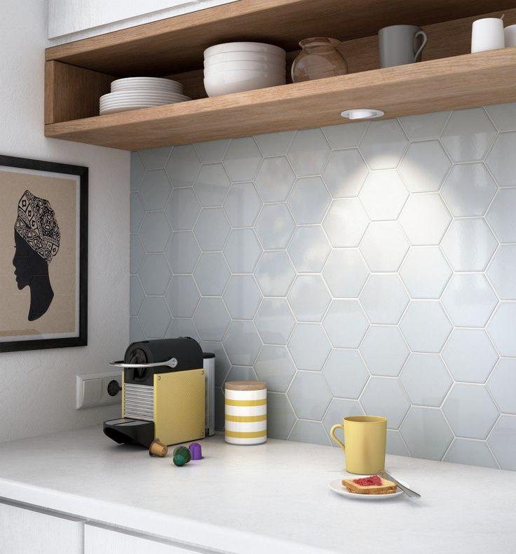 Uberlegen Nicht Nur Als Fliesenspiegel Ein Hingucker U2013 Hexagon Fliesen Eignen Sich  Für Interessante Wanddesigns In Geschäften