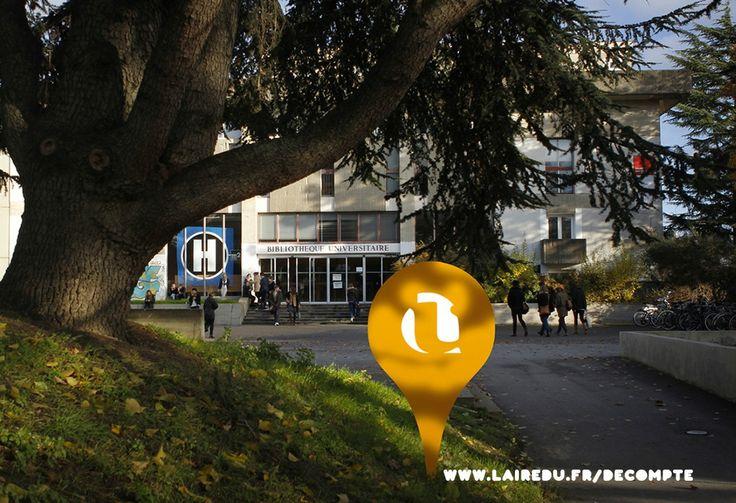 L'aire d'u à la BU de l'Université Rennes 2