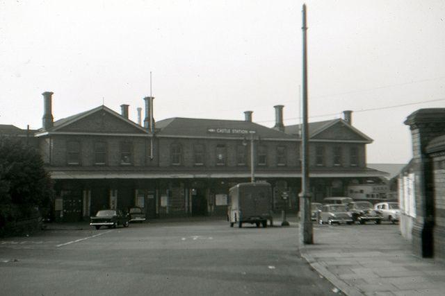 Northampton Castle Station, October 1965.