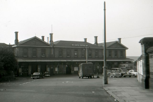 Northampton Castle Station, October 1965.