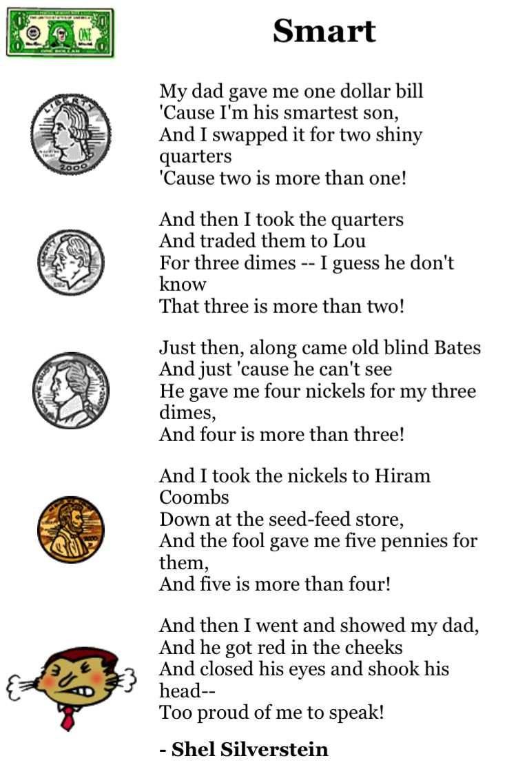 worksheet Shel Silverstein Worksheets 26 best activitiesworksheets images on pinterest worksheets moon shel silverstein poems are always fun and many of his works can be used during math instruction a few years ago i asked the