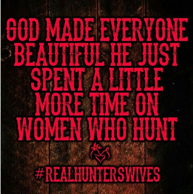 Women who hunt
