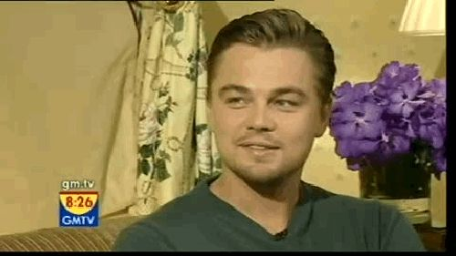 And Leonardo's slightly confused attempt. | 28 Celebrity Winks To Melt Your Actual Heart