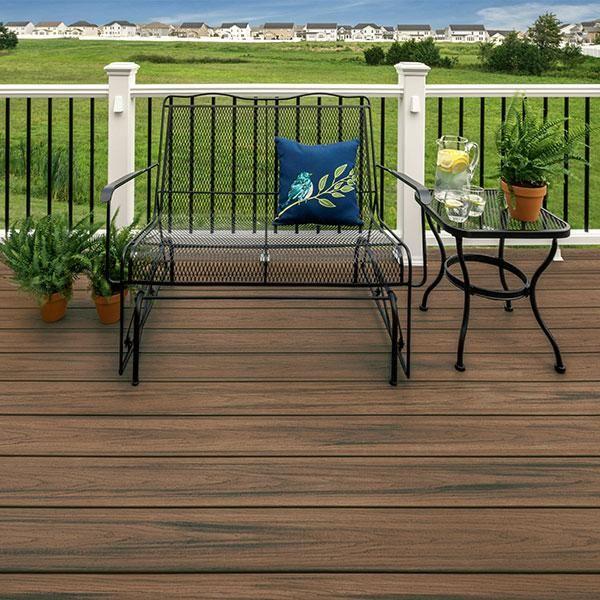 Composite Decking Image Gallery Decksdirect Composite Decking Colors Trex Composite Decking