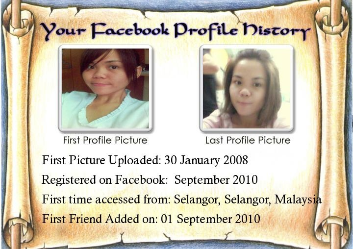 Know your Facebook Profile History at http://bestfunapp.com/