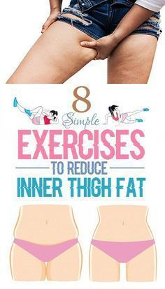 8 Simple Exercise to Reduce Inner Thigh Fat Instantly