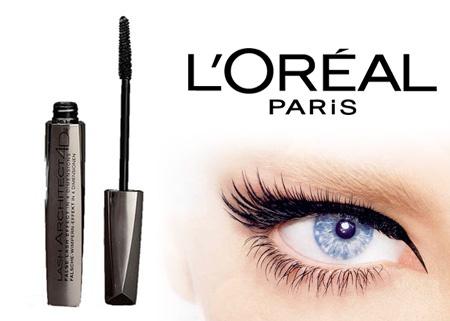 Loreal Paris Mascara Lash Architect 4D Black 32,90 TL