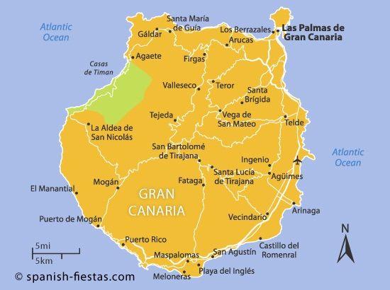 Playa del Inglés in Playa del Inglés, Las Palmas de Gran Canaria