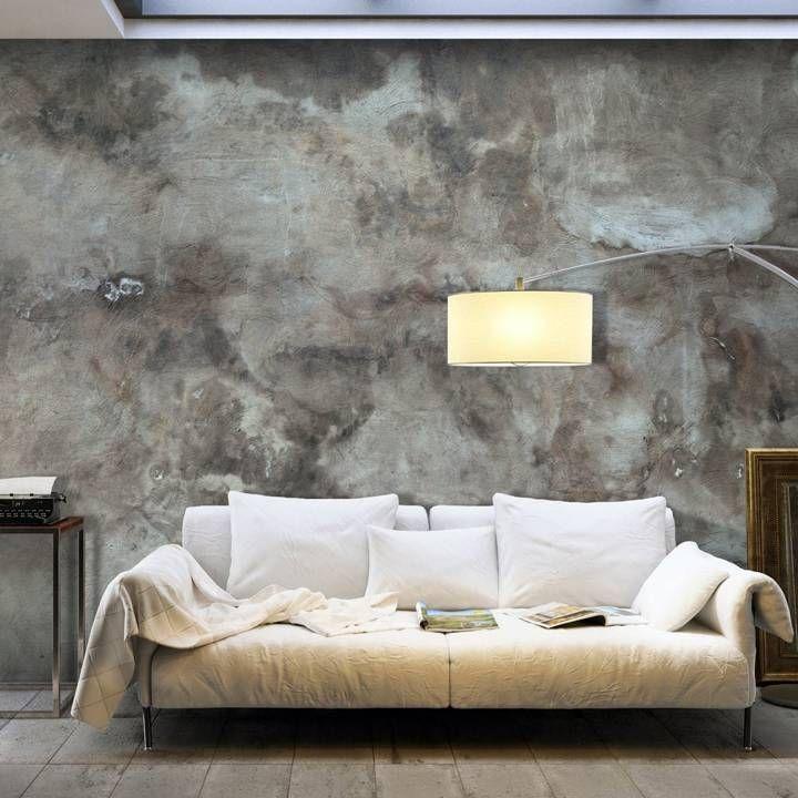 Die besten 25+ Betontapete Ideen auf Pinterest Tapeten beton - vliestapete wohnzimmer ideen