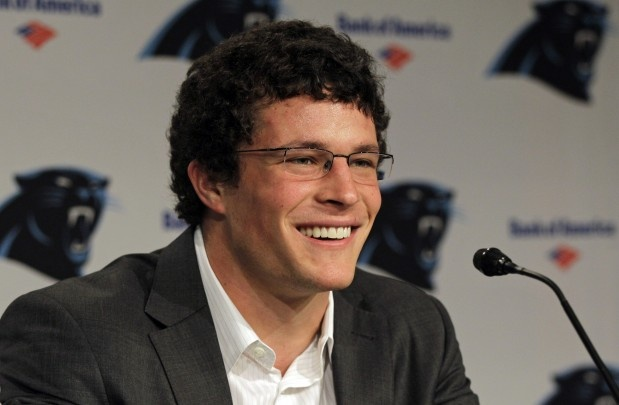 Welcome to the Panther's.  Luke Kuechly.