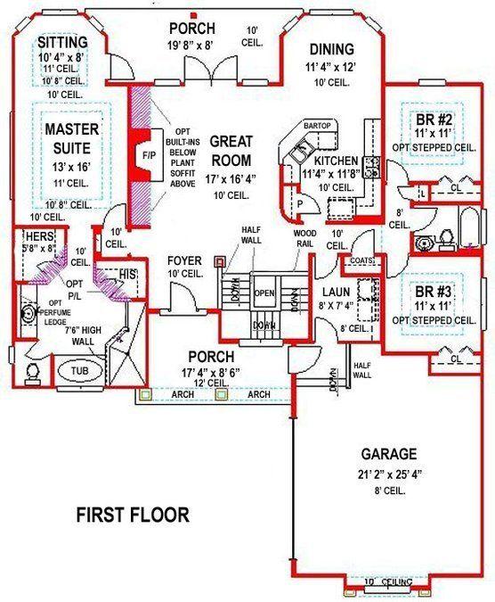 Basement House Plans
