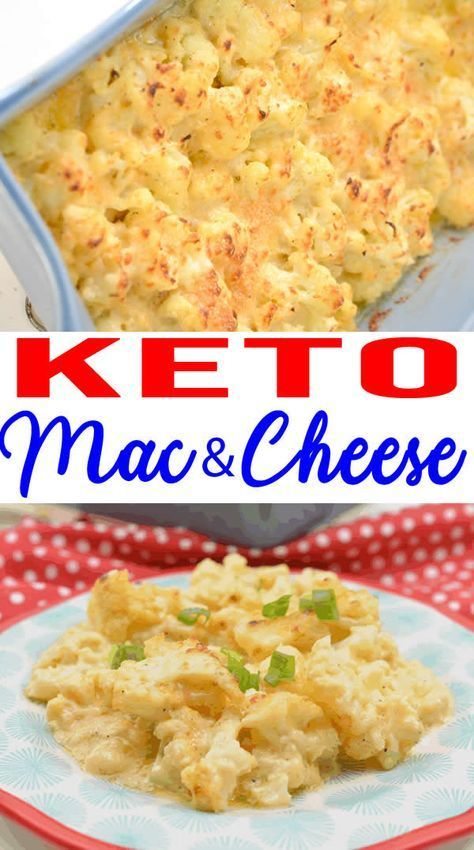 EASY Keto Cauliflower Mac and Cheese! Low Carb Mac…