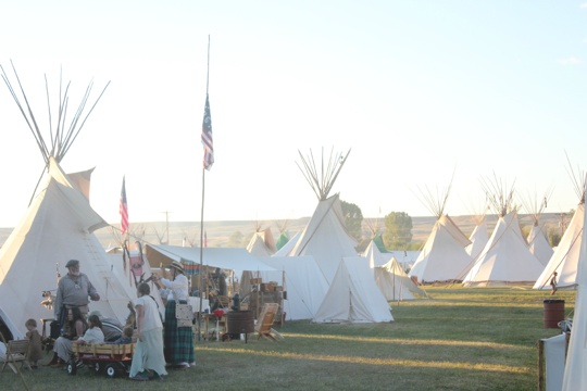 Fort Bridger weekend from The Rockstar Diaries. This looks amazing...history, rustic living, re-enactments. Could you live without modern amenities? Even for a weekend?