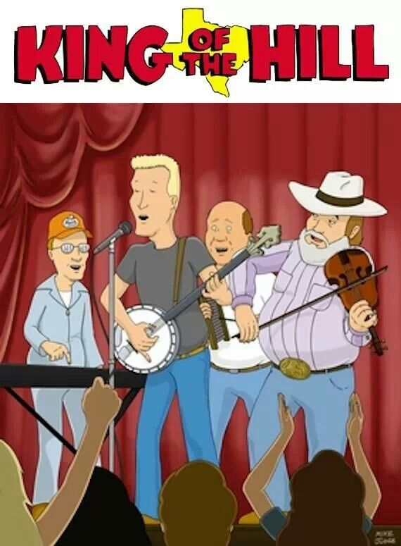 Charlie Daniels on King of the Hill