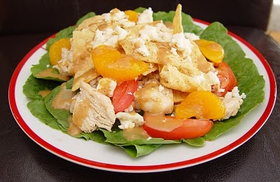 Rumbi Mango Chicken Salad. We have had this many times and it is one of my favorite homemade salads. So yummy,