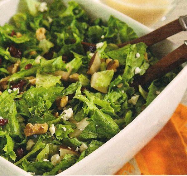 Autumn Chopped Salad With Apple Cider Vinaigrette Recipe