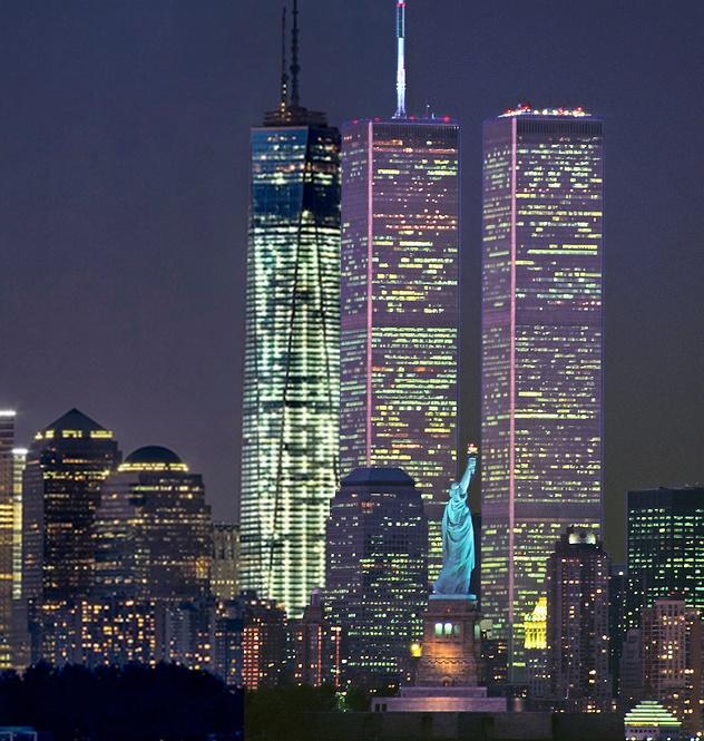 New York One World Trade Center 1 787 Pinnacle