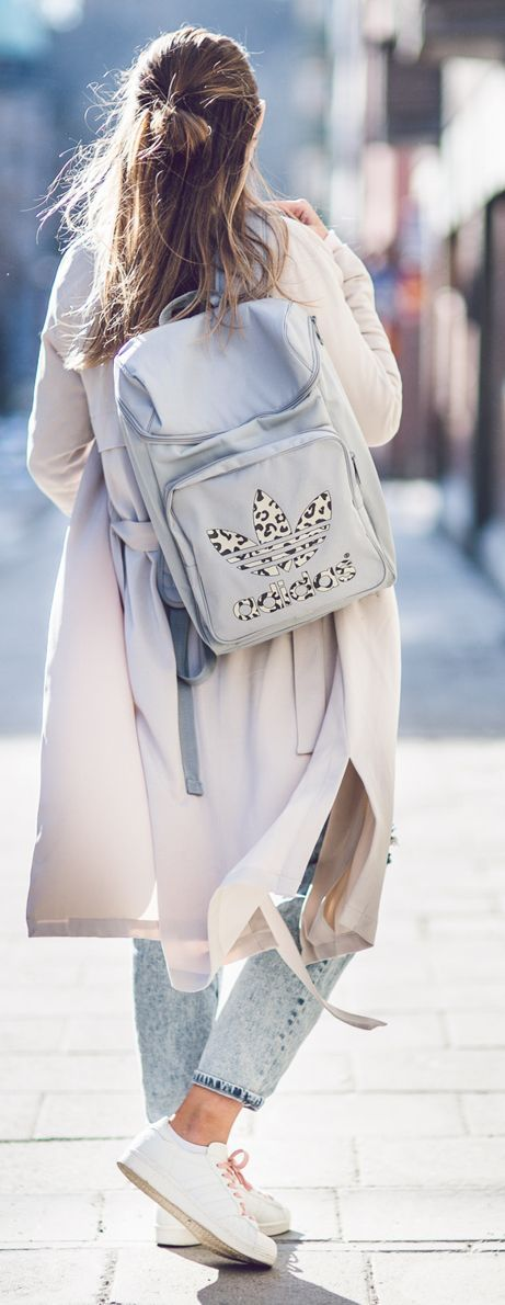 Leopard Accent Backpack by Kenzas