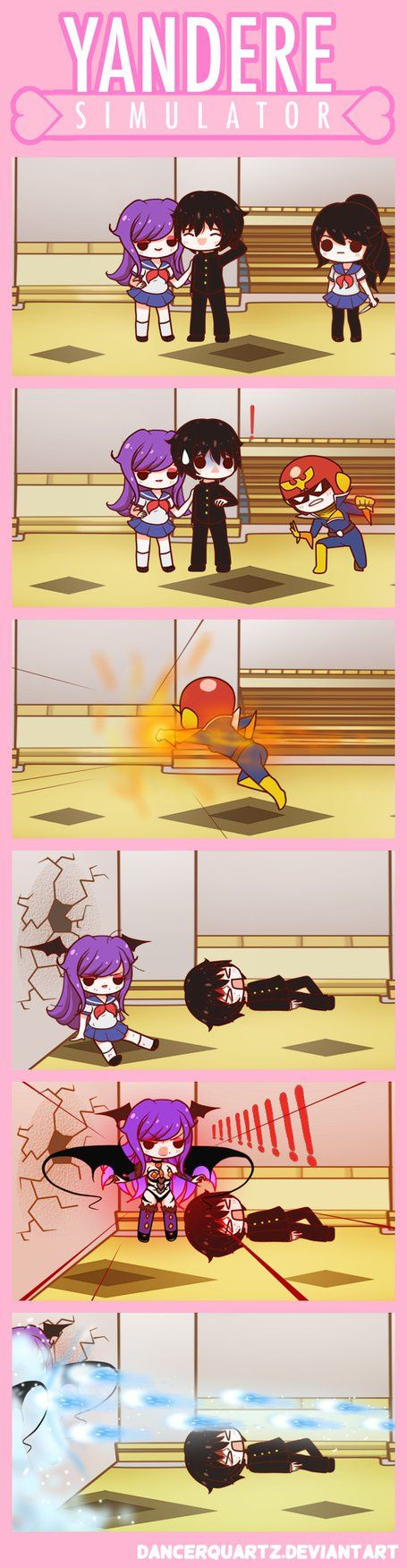 Yandere Comic - Bad Senpai! by DancerQuartz on DeviantArt
