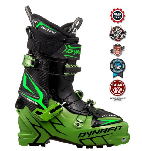 Vulcan TF - Dynafit's new FreeRide Touring Line. Performance with no compromise and half the weight.