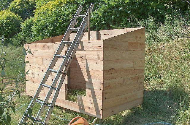 Construire une cabane en bois - construire une cabane de jardin en bois