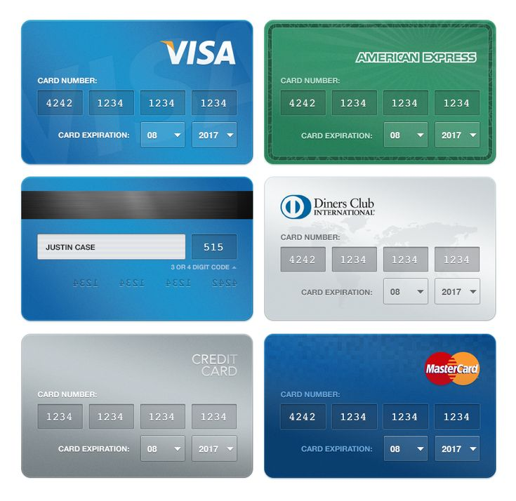Creditcards payments