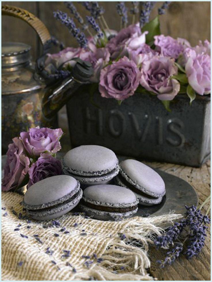 Lavender Macarons.  Anges de Sucre Macaron Specialist