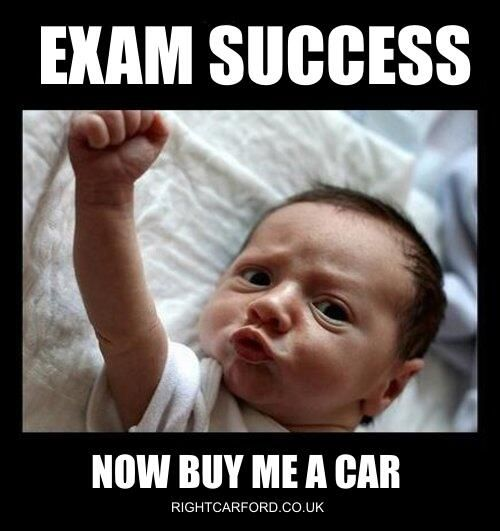 Twitter / Rightcarbev: Congratulations to everyone  who got the  A Level exam results they wanted