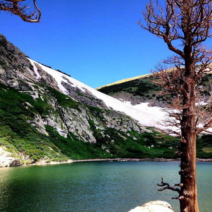 CO: St. Mary's Glacier in Idaho Springs. Enjoy Saint Mary's Glacier in Summer, where the rocky path about a mile long takes you to the glacial lake. People ski and snowboard all season long down the glacial front. Check out Daily Hikes near Denver for the best route.