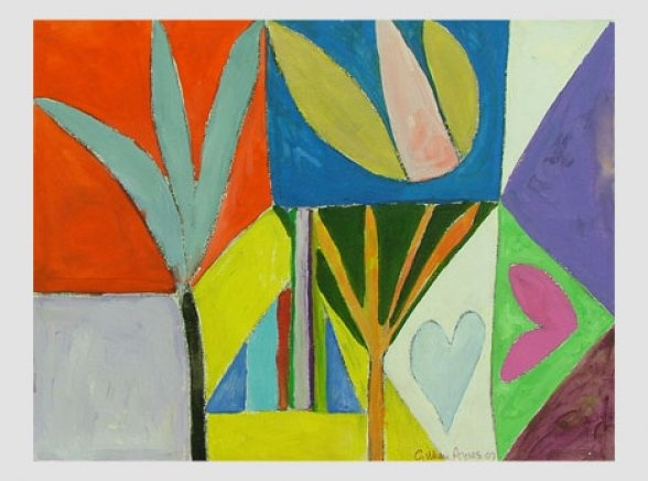Gillian Ayres | Unique Works on Paper