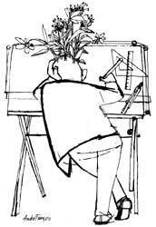 ANDRE FRANCOIS   Hungary,  1915-2004    illustrator -EYE-LIKEY