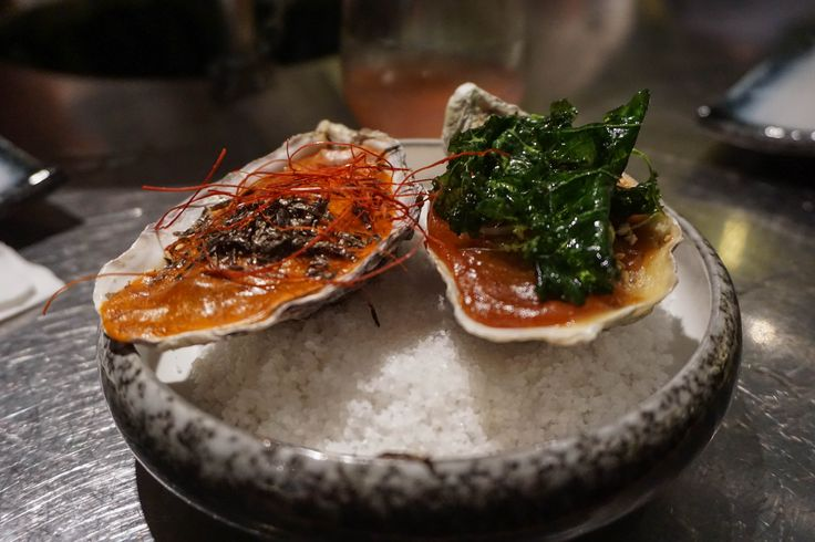 Baked Oysters - The Walrus - Hong Kong