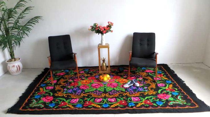 Les 25 Meilleures Id Es De La Cat Gorie Tapis Multicolore Sur Pinterest Pompom Rug Tapis