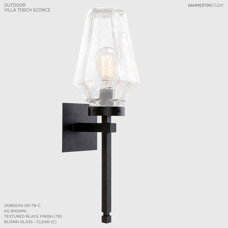 Outdoor villa torch sconce odb0043 0d