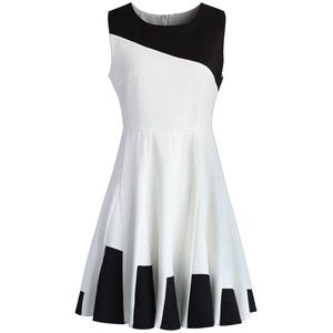 Chicwish Key to Grace Flare Skater Dress