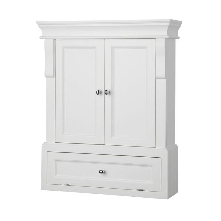 Photo On Foremost Naples in W x in H x in D Bathroom Storage Wall Cabinet in White