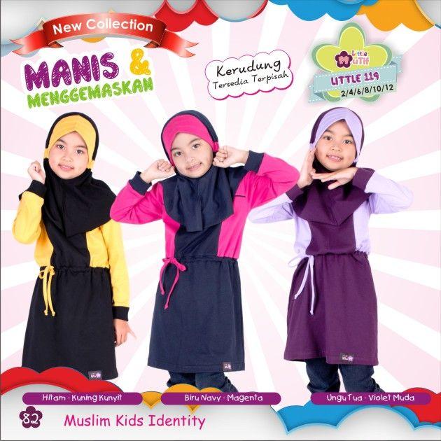 """Koleksi terbaru Little Mutif Girls, Tunik Little Mutif dan Gamis Little Mutif untuk buah hati, akhwat kecil tercinta. :)   Ayo, dapatkan segera melalui Agen dan #DistributorMutif terdekat. Klik: http://bit.ly/1dOFu0B :)   Mutif: """"Inspiring Style and Beauty, Inspiring The Beauty of Islam"""" #BusanaMuslim #Fashion #FashionMuslim #LittleMutif #TunikLittleMutif #GamisLittleMutif #MutifKids #MuslimKids #Family #MuslimInspiratif www.mutif.co - www.mutif.id"""