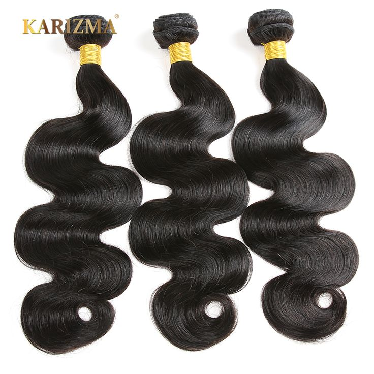 Only US $10.86 Karizma Hair Peruvian Body Wave Bundles Natural Black 100% Human Hair Weave 1 Piece 8-28inch Non-remy Hair Extensions Free Ship