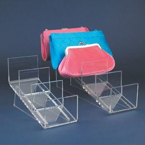 Clutch bag display-Clutch bag display  16-1/4